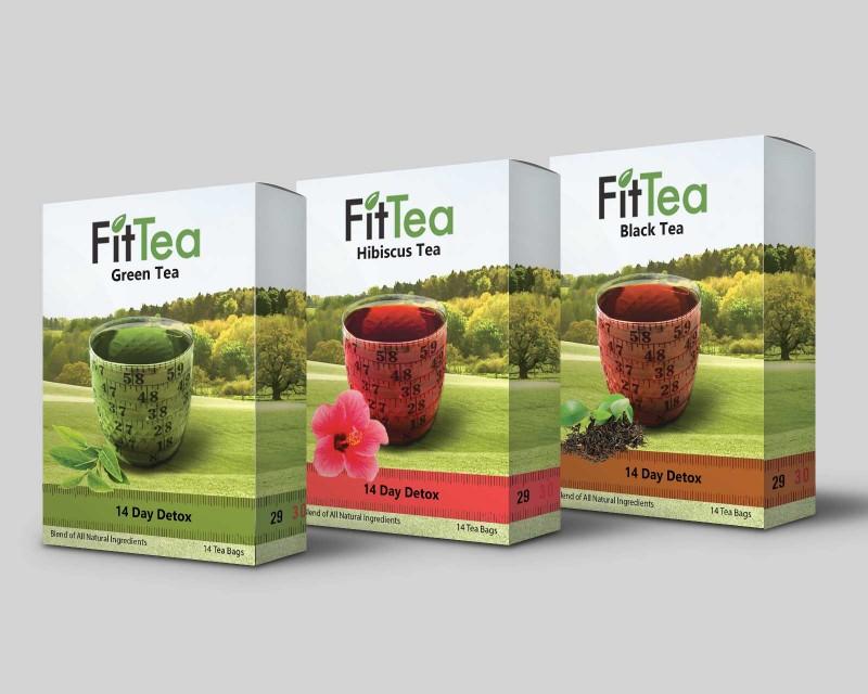 Sheva Wittler Fit Tea Packaging Design